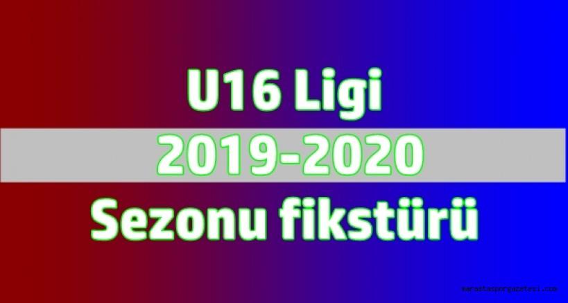 U16 Ligi  2019-2020  Sezonu fikstürü