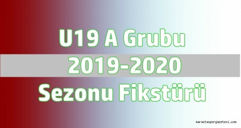 U19 A Grubu  2019-2020  Sezonu Fikstürü