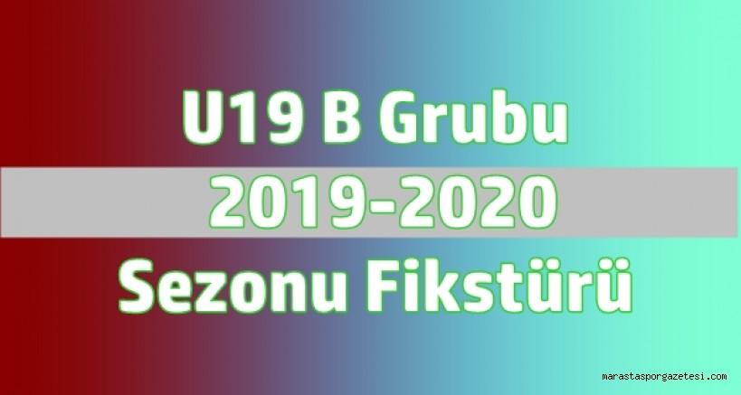 U19 B Grubu  2019-2020  Sezonu Fikstürü