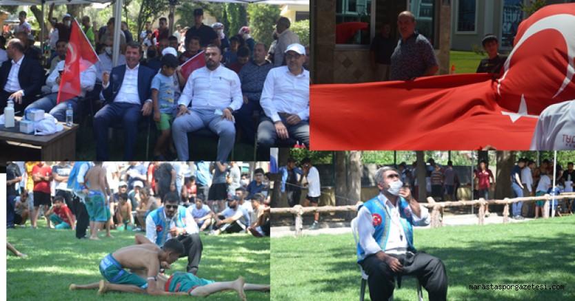 Uluslararası Kısa Şalvar Güreşleri Festivali Türkoğlu'nda başladı