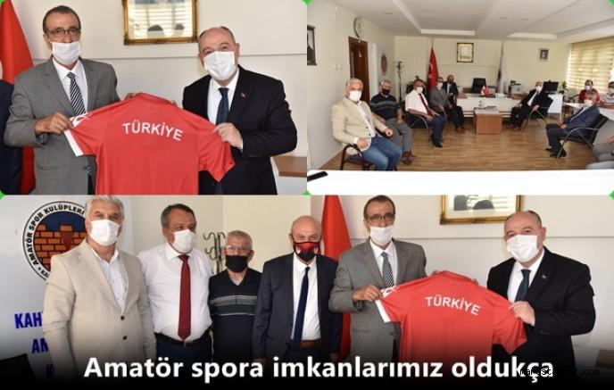 Vali Coşkun'dan Kahramanmaraş ASKF'ye Ziyaret