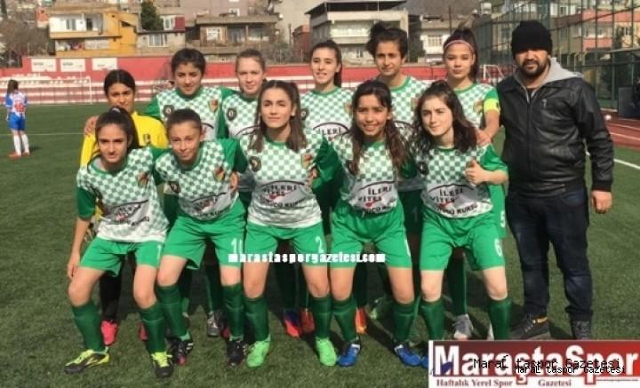 Yıldız Kızlar turnuvasında  Hakkarigücüspor'a mağlup oldu