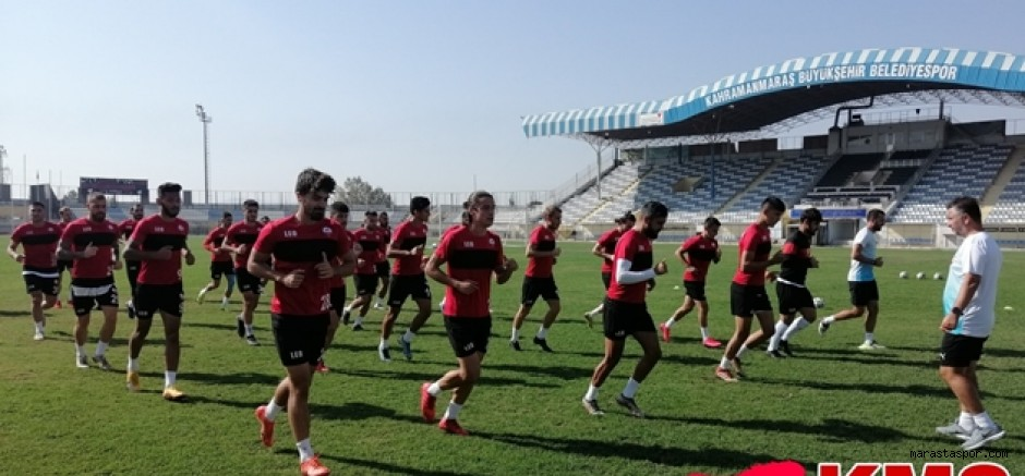Zonguldak Kömürspor maç hazırlıklarını tamamladı.
